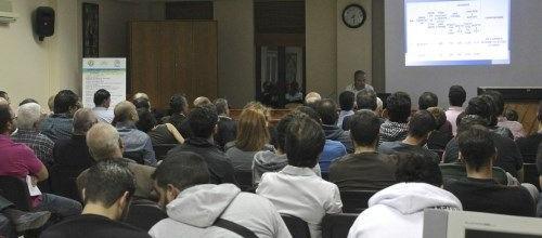 Η διάλεξη του Νίκου Λυγερού με θέμα: ''Ο ζεόλιθος στη γη της Κύπρου''